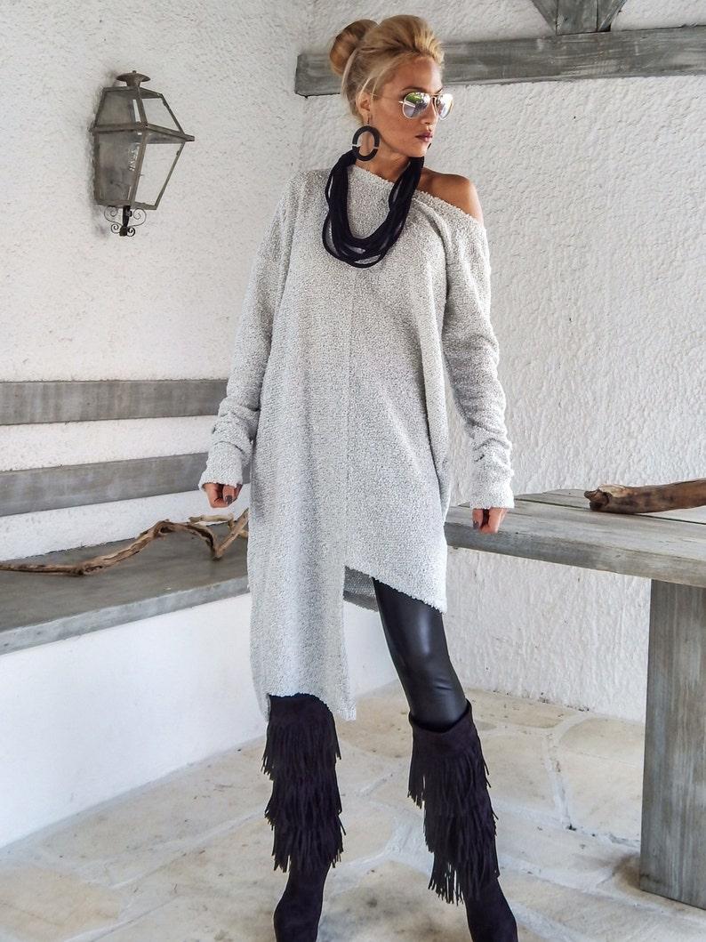 646de56c15788 Winter Wool Boucle Tunic   Sweaterdress  Plus Size Tunic