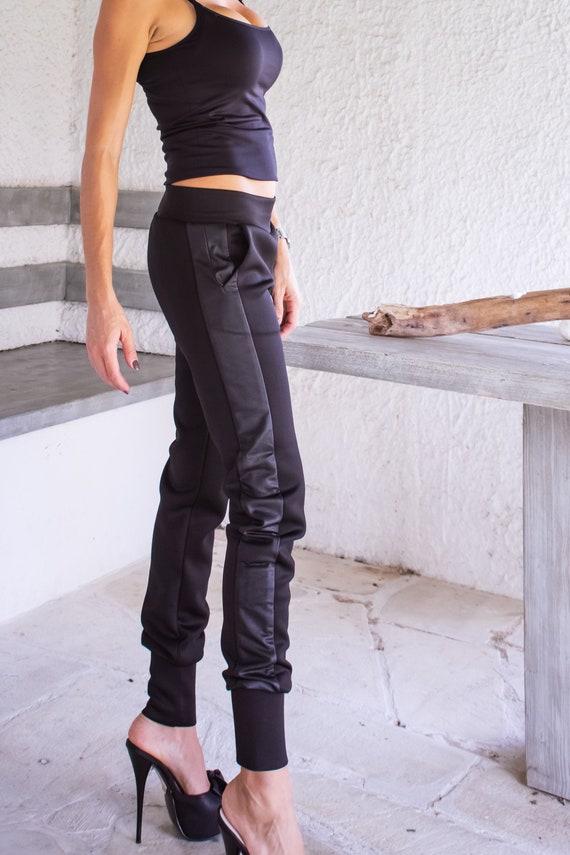 0c9a122e4d3 NEW Women Black Pants   Winter Pants   Harem Pants   Black