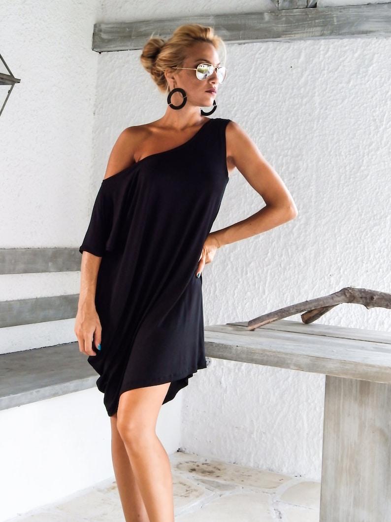 f9dd4a3c0943e Black Dress   Black Tunic   Everyday Top   Oversized Top