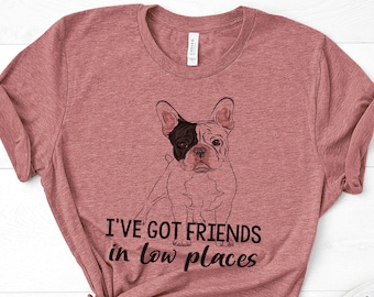 7ced2f921 Dog Mom Shirt   Frenchie Mom   French Bulldog tee, Cute Graphic tee, Funny Dog  Shirt, Gift for frenchie mom, dog mama, animal lover, mommy