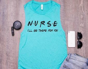 Messy Hair Scrubs Coffee-Emergency Psychiatric Nursing Home Unisex Tank Top