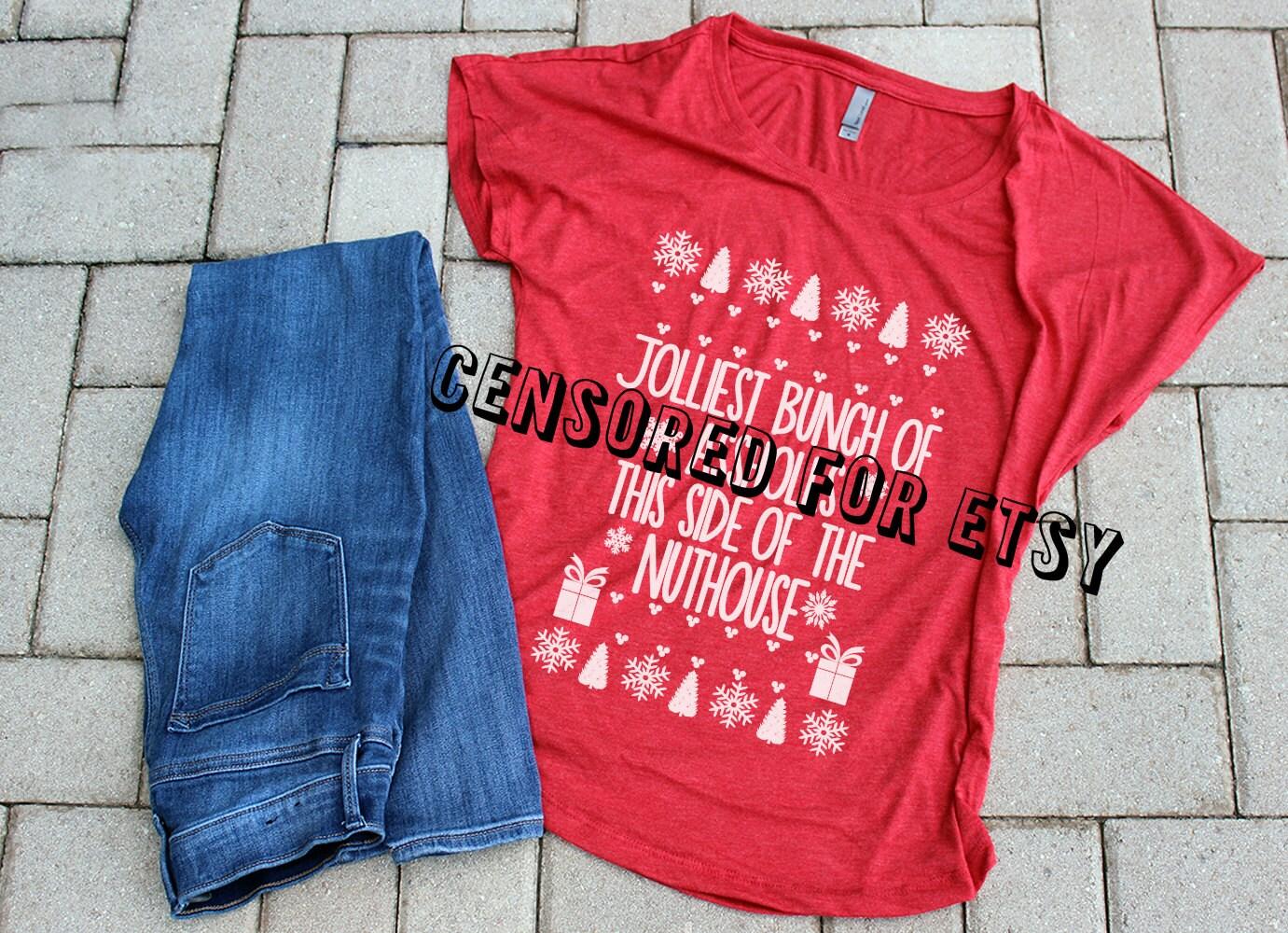 Griswold Weihnachten Urlaub Shirt Damen-Weihnachten-Bluse | Etsy