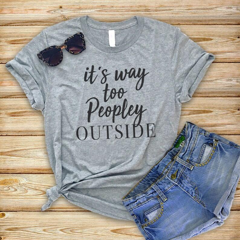 671979e7 Funny Anti Social T-Shirts Women Funny t shirts Women | Etsy