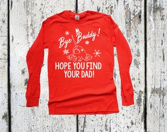 Kids Christmas Shirt, Christmas Shirt, Youth Christmas, Youth Buddy the Elf Christmas Shirt, Narwahl hope you find your dad shirt.