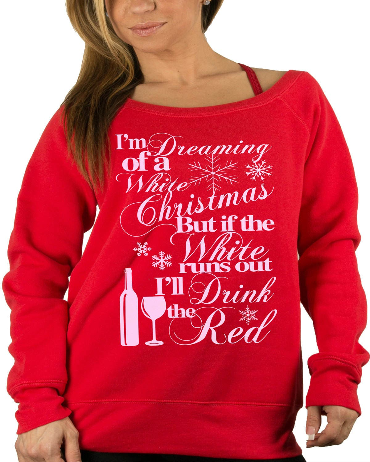 Wine Bottle Design.Wino. Wine Lovers Christmas Sweater.Ugly | Etsy