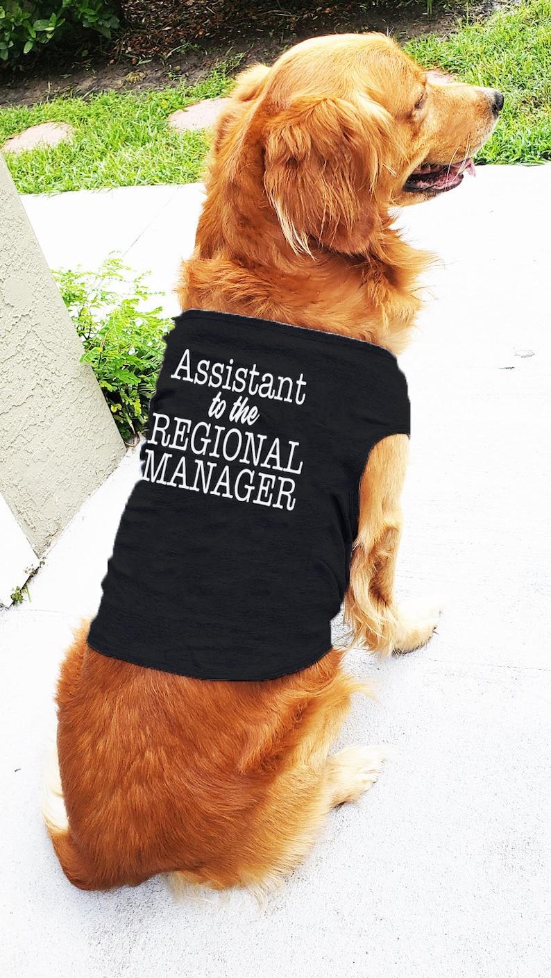977b1f6a22e8 The Office Dog T-Shirt Custom Dog ClothesPersonalized Dog | Etsy