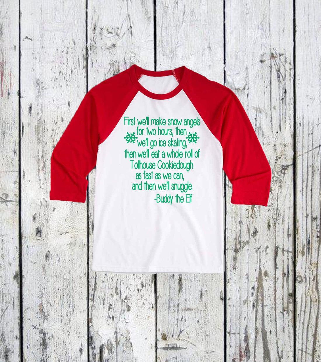 Jugend Kumpel Elf Weihnachten T-Shirt. Kinder Weihnachten | Etsy