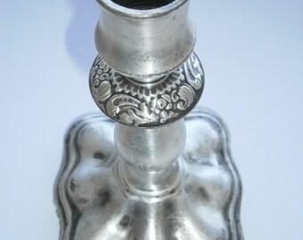 """Old Vintage CANDLESTICK Candle Holder """"Fraget"""""""