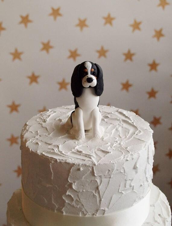 Cavalier King Charles Spaniel Cake Topper Custom Dog Cake Topper