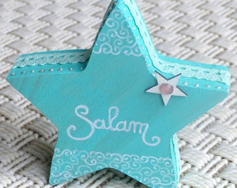 Star Salam wooden Decoration Eastern