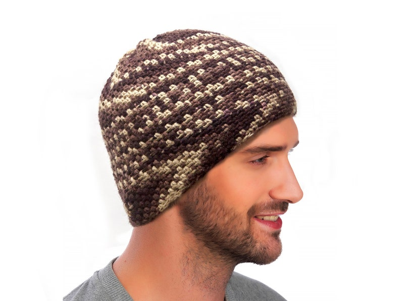 Men s Hat Warm Ears Gift for Him Hippie Hat Unisex  cfb382166aa