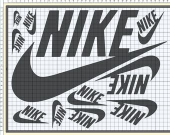 Vinyl Decals And Label For Giant Nike Air Jordan Or Adidas Etsy