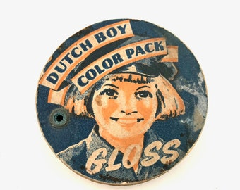 Dutch Boy Color Pack Paint Color Wheel - Vintage Paint Sample Wheel - Advertising Collectible - Painter Collectible - Artist