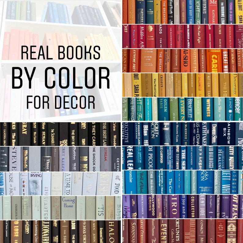 Real Books by Color  Choose your Colors  Office Home image 0