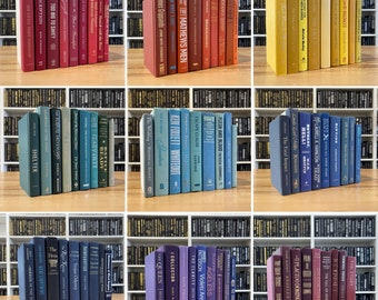 Real Books by Color   Choose your Colors   Office, Home, Staging, Wedding, Props, Shelf   Designer Thrift Used Decor   PRICE is PER BOOK