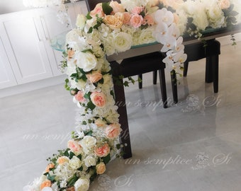 White Flower Garland Etsy