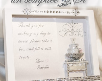 Shadowbox Picture Frame, Sweet Table Frame