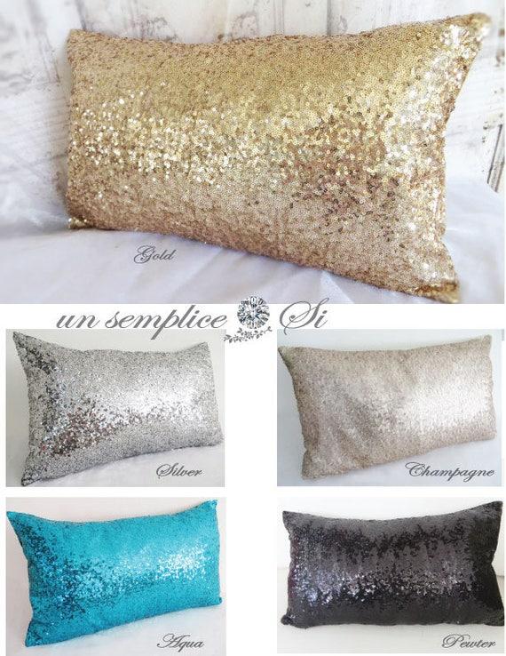 Sequin Bed Runner Sequin Throw Sequin Cover Sequin Blanket Etsy Mesmerizing Silver Sequin Throw Blanket