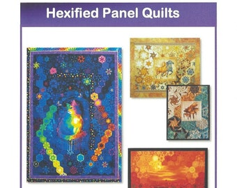 Hexified Panel Quilts * physical copy*