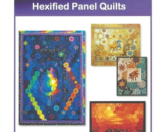 Hexified Panel Quilt *digital pattern*