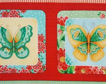 All A Flutter -- Hexified Panel Quilt Kit