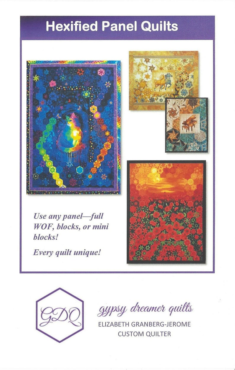 Hexified Panel Quilts  physical copy image 0