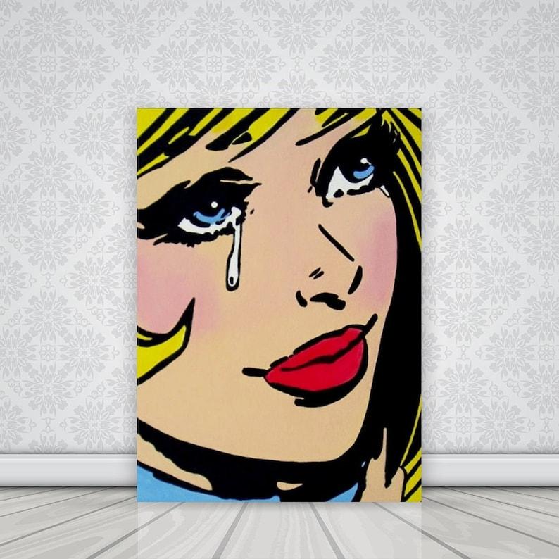 images?q=tbn:ANd9GcQh_l3eQ5xwiPy07kGEXjmjgmBKBRB7H2mRxCGhv1tFWg5c_mWT Awesome Pop Art Comic Girl Crying @koolgadgetz.com.info