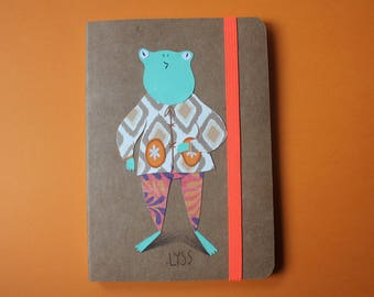 Kraft papers character notebook