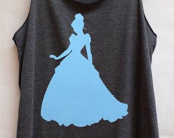 Flock Cinderella Princess Disney : Disney tank tops/Disney t-shirt/Disney shirts for women/Disney shirts for kids/Disney family shirts