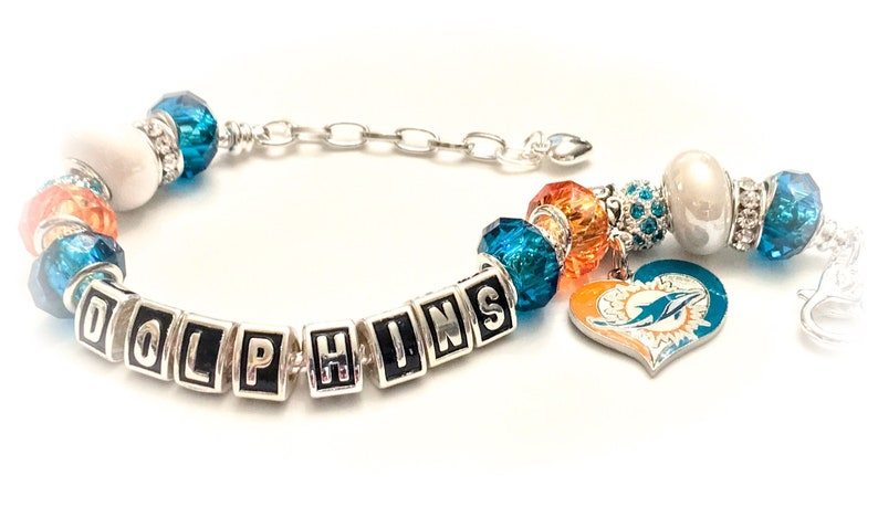 addfd773 Miami Dolphins jewelry Bracelets Jewelry bracelets body Bling. and handmade  The Ultimate INSPIRED Silver adjustable bracelets