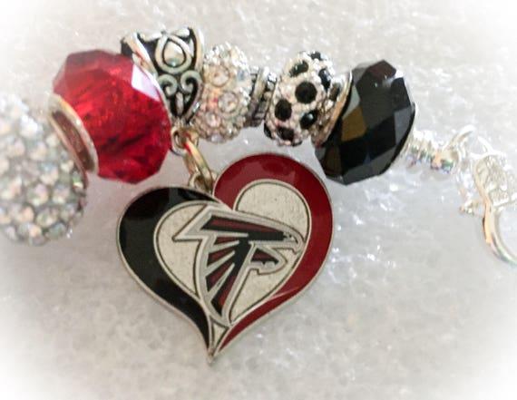 Atlanta Falcons INSPIRED Jewelry bracelets Atlanta Falcons  bc11bc804203