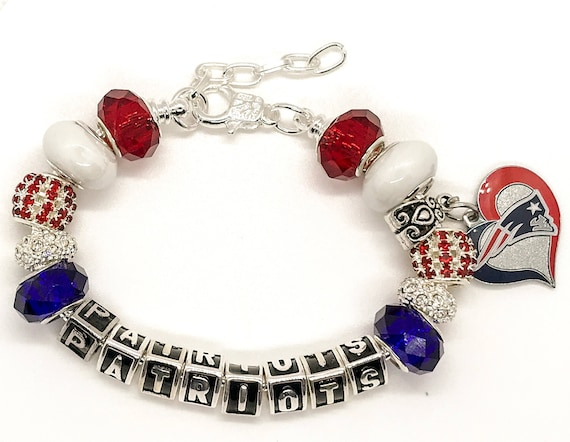 New England Patriots Jewelry Bracelets The Ultimate Inspired Silver Adjustable Bracelets