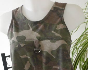 Pinafore/tunic to wear for layering over Leggings or skirt
