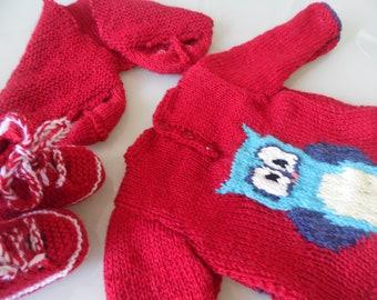 622c7373056eb Sweater girl 11 12 years Wool Sweater chocolate mocha