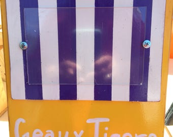 LSU Geaux Tigers photo frame
