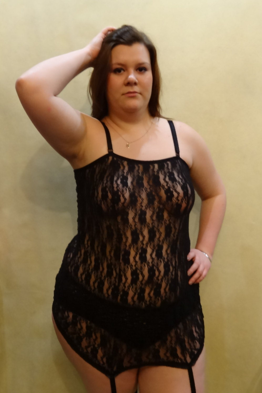 Black chubby mature