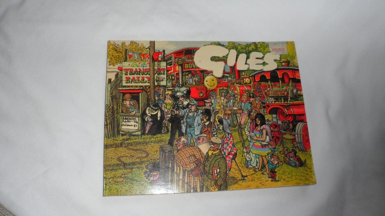 2 Vintage GILES/Adult Comic Books/Life n Times in Adult Comic image 0