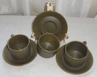 DISCOUNTED Vintage WEDGWOOD PENNINE Tableware/3 Cups n Saucers/Made in England By Wedgewood/Great Condi & Wedgwood pennine | Etsy