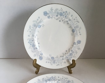Wedgwood Belle Fleur Pattern Salad Plate 1961 - 1991 Made in England
