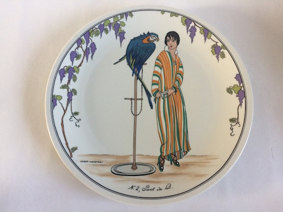 Villeroy Boch Dinner Plate Design 1900 French Art Nouveau Etsy