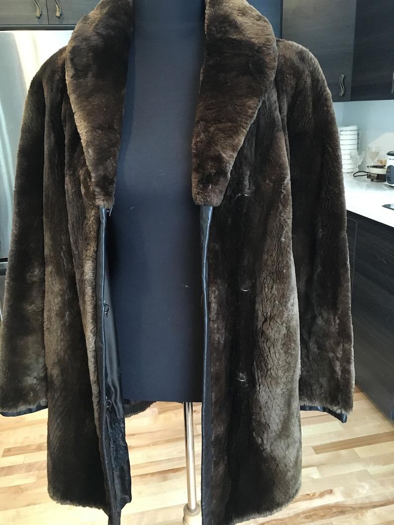 5a5887301bc Sheared Beaver Fur Coat Chocolate Brown Beaver Fur Jacket