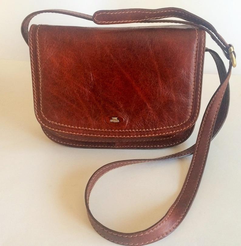 921460718ad7c Genuine Vintage THE BRIDGE Story Donna Marrone Leather