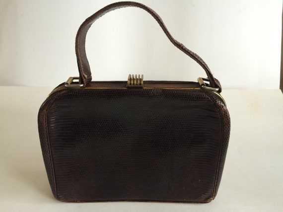 Vintage 1940's Fassbender Handbag