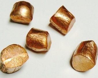 pure copper 99.99% oxygen free cu metal anodes slugs melting casting alloy 1 lb