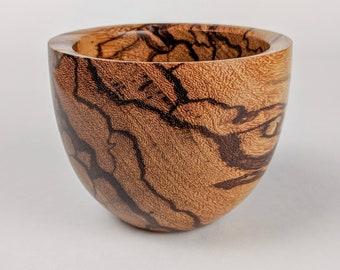 Wood Bowl, Handturned, Marblewood, Wooden Decor