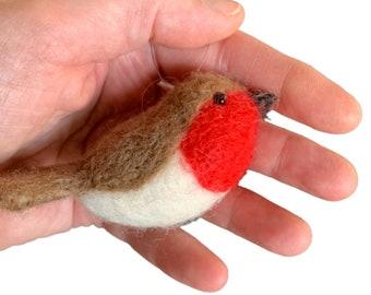 Robin needle felting kit make 2 robins great beginners kit