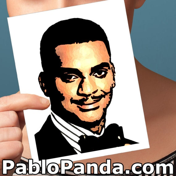 Funny Birthday Card Fresh Prince Of Bel Air Carlton Banks Etsy