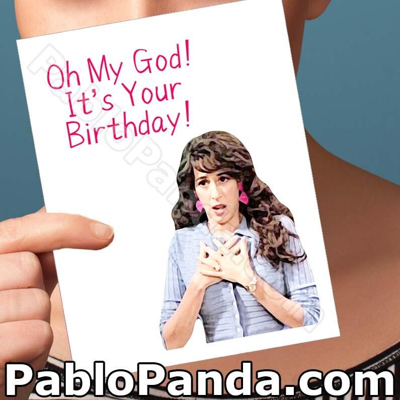 Funny Birthday Card Friends Tv Show Boyfriend Bday