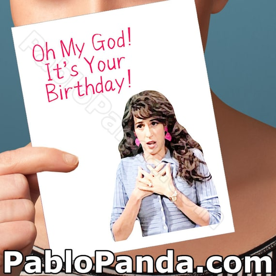 Friends Tv Show Birthday Card Boyfriend Card Janice   Etsy