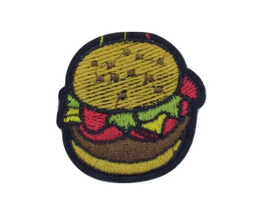 Burger Iron on Patch